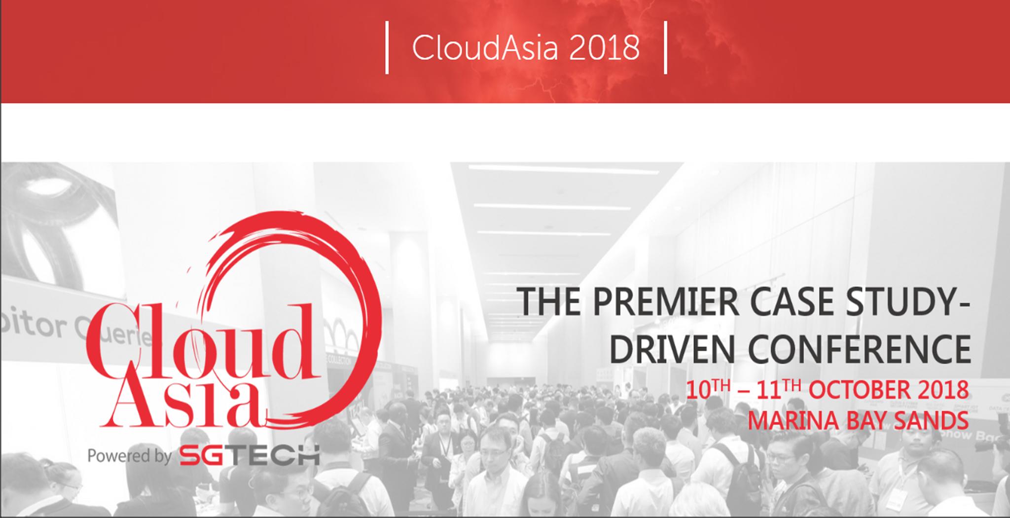 Cloud Expo Asia Singapore 2018 showcases